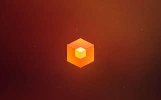 Orange Cube wallpapers and stock photos