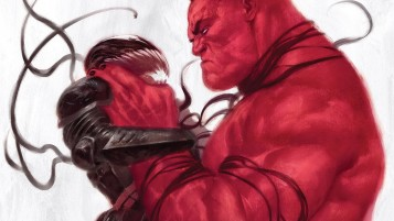 Random: Red Hulk vs Venom