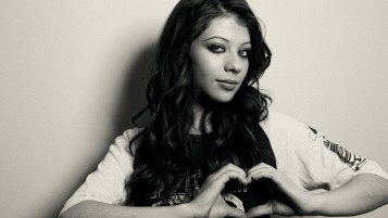 Michelle Trachtenberg Monochrome wallpapers and stock photos