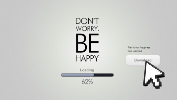 Don't Worry Be Happy Quote wallpapers and stock photos