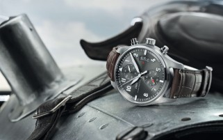 IWC Black Dial wallpapers and stock photos