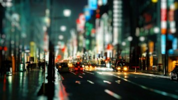 Tilt Shift Cityscape wallpapers and stock photos
