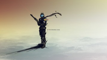 Futurborg Soldier wallpapers and stock photos