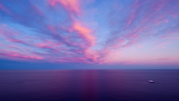 Sea Purple Sky wallpapers and stock photos