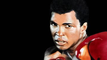Muhammad Ali Portrait wallpapers and stock photos