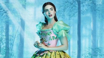 Lilly Collins Snow White wallpapers and stock photos