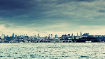 Istanbul Cityscape wallpapers and stock photos