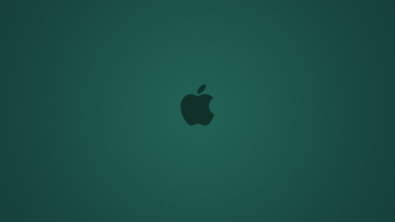 Next: Cyan Apple Background