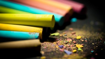 Colored Crayons wallpapers and stock photos