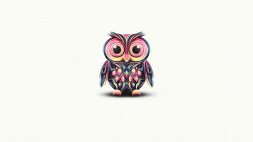 Psychedelic Owl wallpapers and stock photos