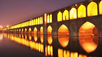 Iran Isfahan 33 bridges wallpapers and stock photos