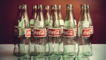Random: Empty Coke Bottles