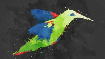 Hummingbird Artwork wallpapers and stock photos