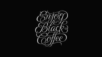 Enjoy Black Coffee wallpapers and stock photos