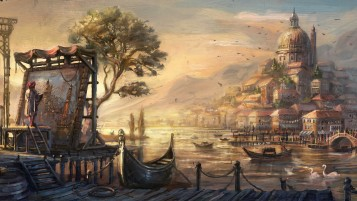 Anno 1404 Artwork wallpapers and stock photos