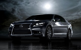 Lexus LS wallpapers and stock photos