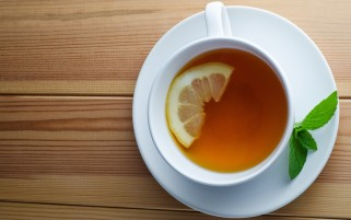 Random: Healthy Lemon Tea
