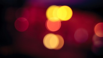 Next: Orange and Red Bokeh