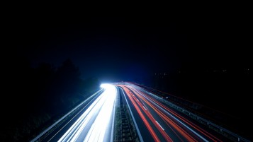 Highway at Night wallpapers and stock photos