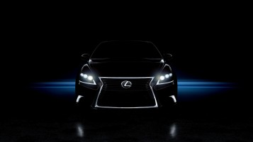 Lexus LS460 F-Sport Faros wallpapers and stock photos