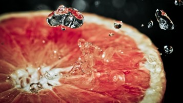 Pink Grapefruit wallpapers and stock photos