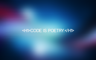 Code is Poetry wallpapers and stock photos