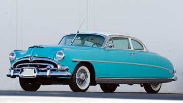 Azul Hudson Hornet wallpapers and stock photos