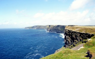 Beauty Cliffs Of Moher Ireland wallpapers and stock photos