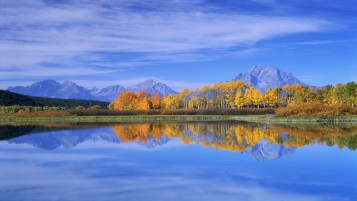 Mountains Autumn Landscape wallpapers and stock photos