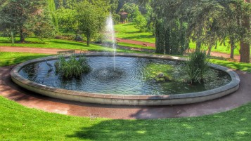 Fountain HDR wallpapers and stock photos