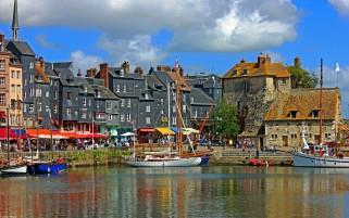 Honfleur wallpapers and stock photos