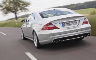2005 CLS 55 AMG wallpapers and stock photos