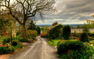 Nice Village England wallpapers and stock photos