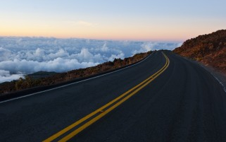 Next: Sea Of Clouds & Road