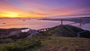 Random: Golden Gate Bridge Lookout