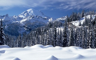 Snow Valey wallpapers and stock photos