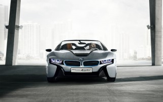 BMW i8 Spyder Concept wallpapers and stock photos