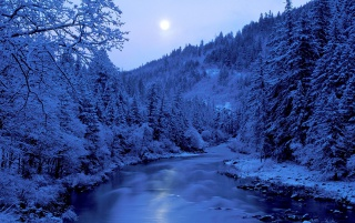 Frozen River wallpapers and stock photos