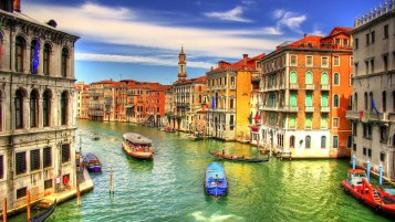 Venice Canal wallpapers and stock photos