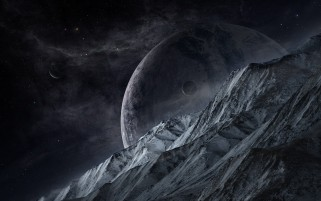 Random: Mountain Planets Outer Space