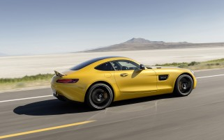 2015 Mercedes AMG GT Solarbeam Motion Side wallpapers and stock photos