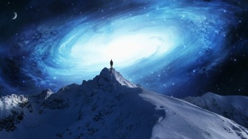 Peak Snow Stars People Look wallpapers and stock photos