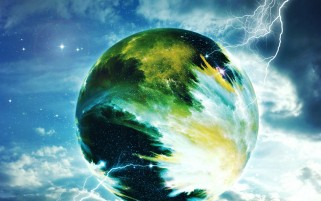 Creative Planet Lightning Sky wallpapers and stock photos
