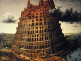 Awesome Tower Of Babel wallpapers and stock photos