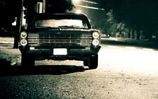 Vintage Ford Galaxie wallpapers and stock photos