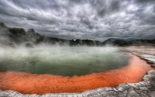 Rotorua, New Zealand wallpapers and stock photos