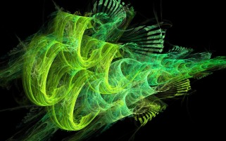 Green Smoke Line Abstract wallpapers and stock photos