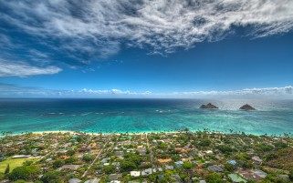 Lanikai Beach Kailua wallpapers and stock photos