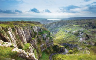 Cheddar Gorge Mendip Hills wallpapers and stock photos
