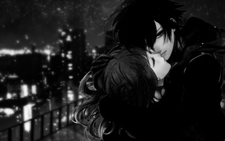 Sweet Couple Dark Art wallpapers and stock photos
